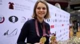 Анна Музычук посетило матч