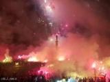 Автобус с игроками и тренерским штабом «Кри Звезды» загорелся во время чемпионата парад