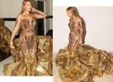 Як єгипетська цариця: Бейонсе в золотій сукні захопила шанувальників