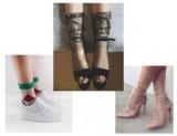 Дуже ніжно: як носити і поєднувати прозорі шкарпетки з візерунком